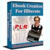 Thumbnail ebook Creation illiterate