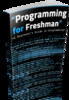 Thumbnail Programing ebook for Freshman