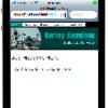 Thumbnail Harley Davidson Mobile Web Template