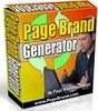 Thumbnail Page Brand Generator Software