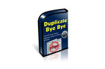 Thumbnail WordPress Plugin -Duplicate Bye Bye